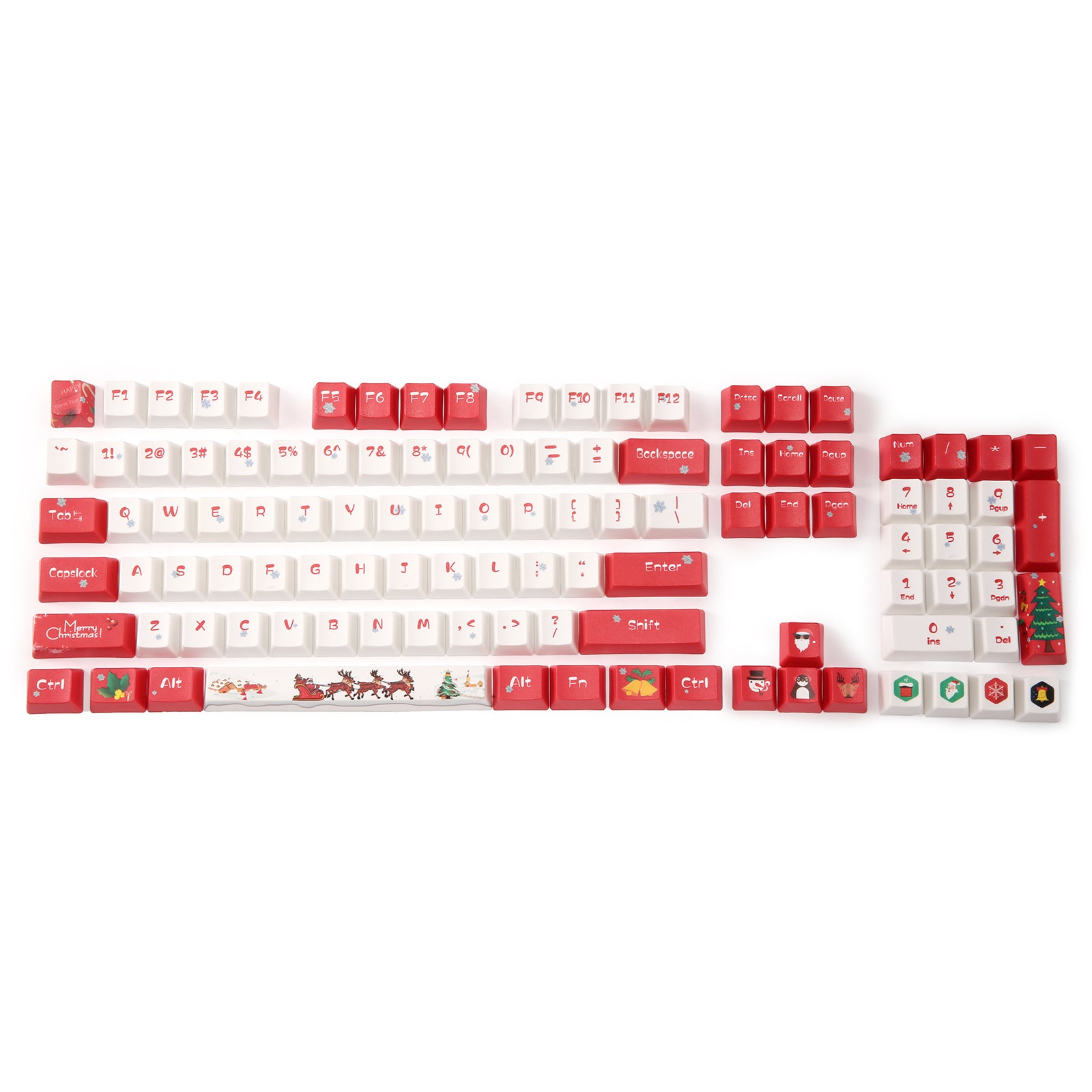 Redragon Thick PBT Keycaps for Mechanical Keyboard