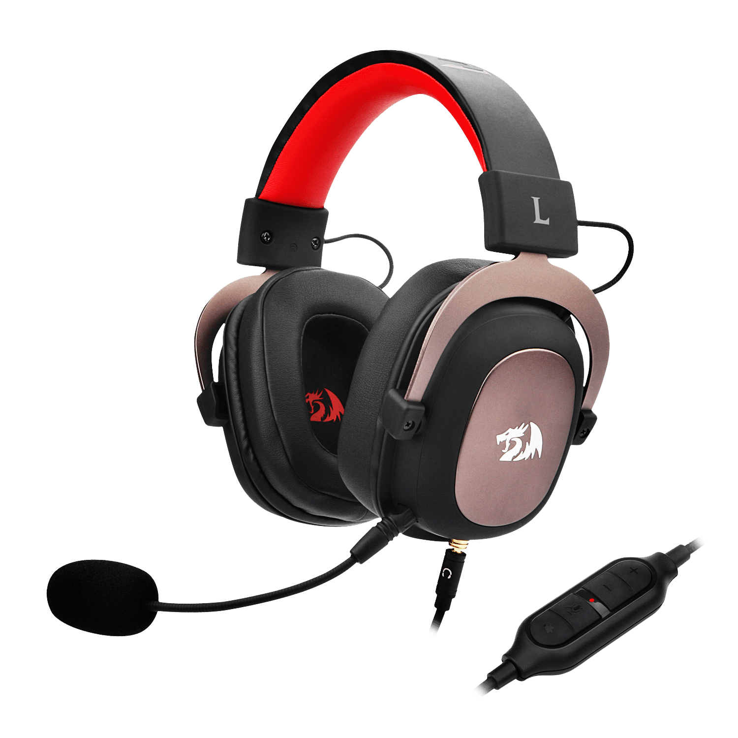 Redragon Zeus H510 7 1 Surround Sound Gaming Headset Best Noise Cancelling Headphones Ps4 Headset Xbox Headset Redragonshop