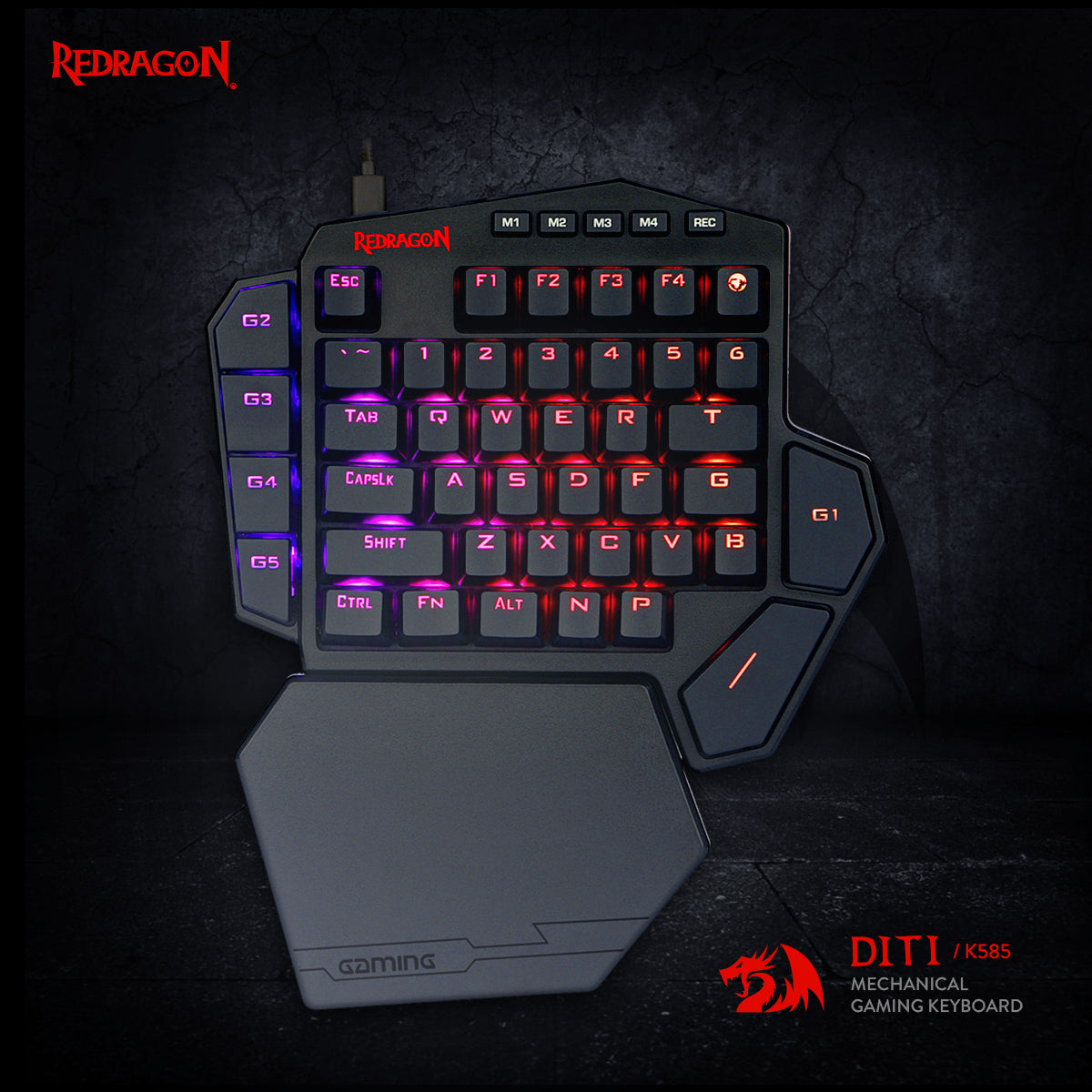 redragon one handed keyboard