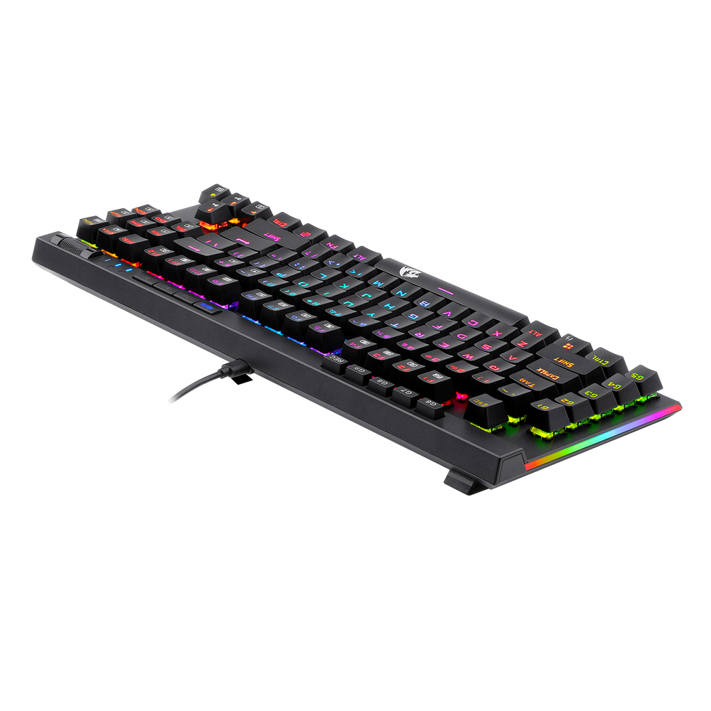 Redragon K587-PRO 87 Keys Compact RGB TKL Mechanical Gaming Keyboard 4