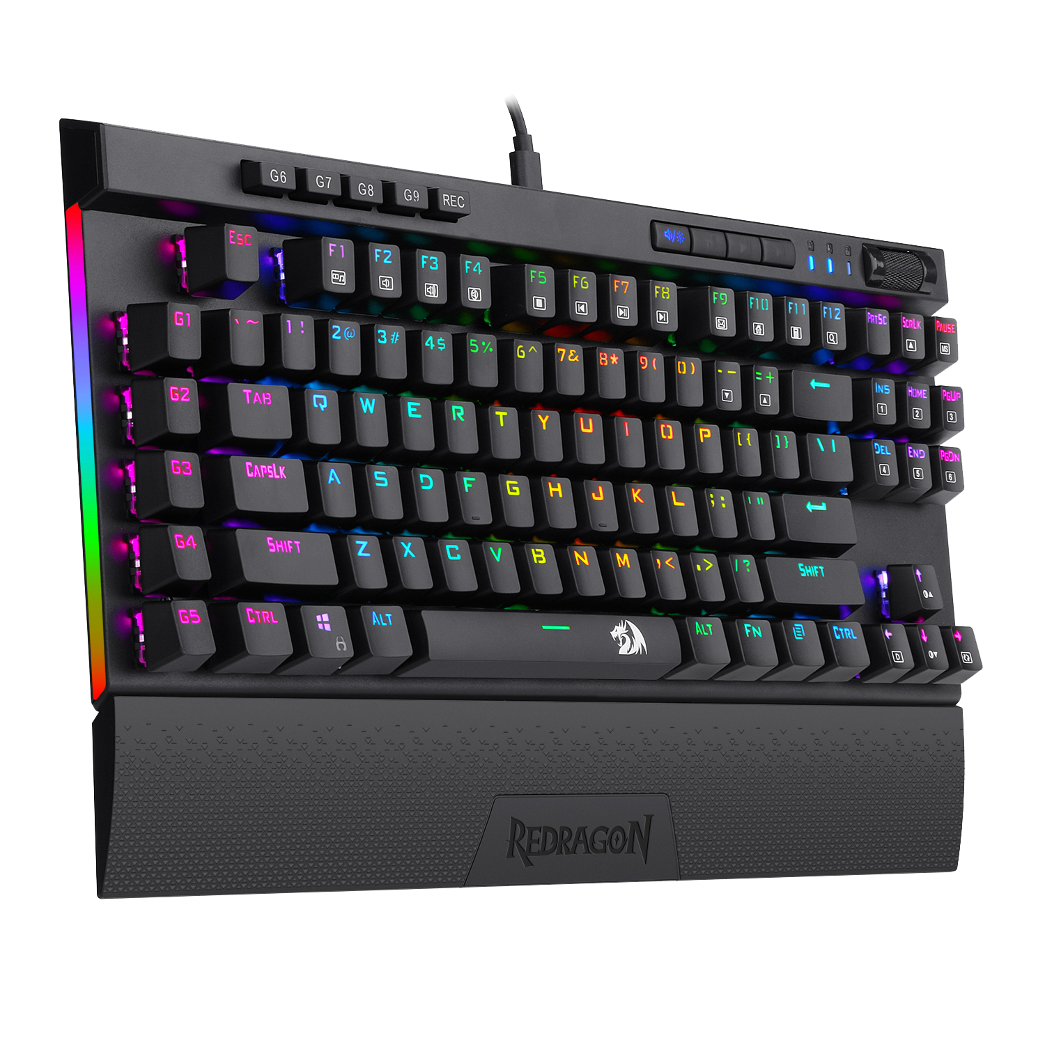 Redragon K587 MAGIC-WAND 87 Keys Compact RGB TKL Mechanical Gaming Keyboard 8