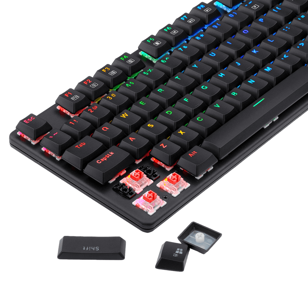 Redragon-K589-Shrapnel low profile mechanical keyboard