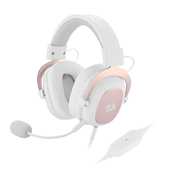 redragon white gaming headset