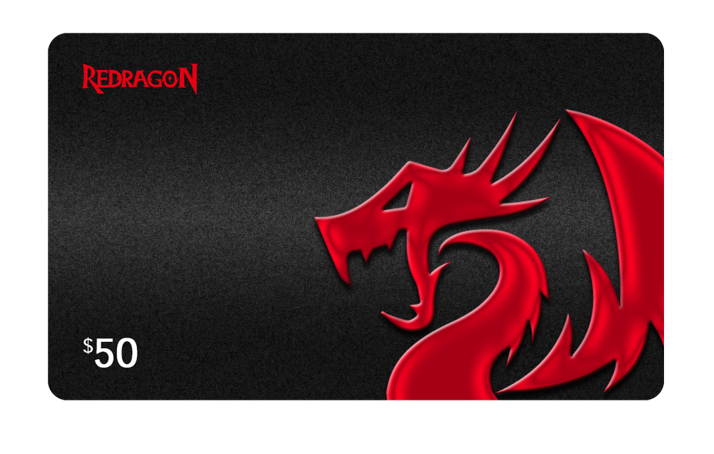 Redragon Gift Card $50