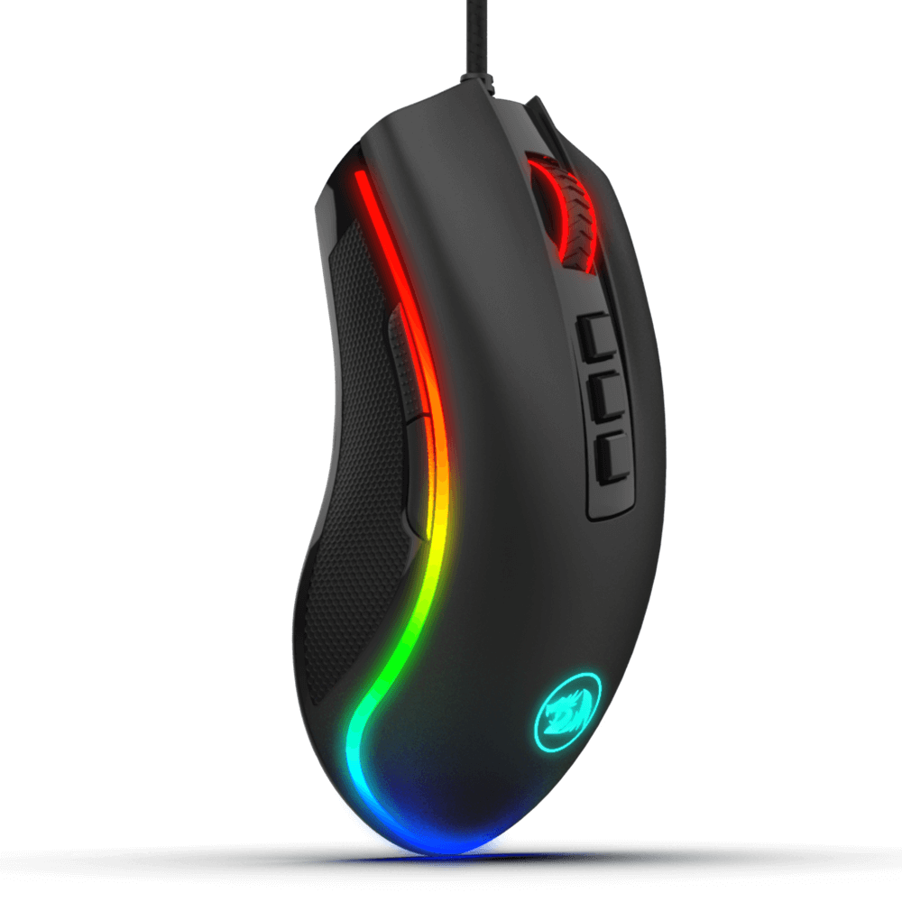 Redragon M711 COBRA RGB Gaming Mouse with 16.8 Million RGB Color Backlit