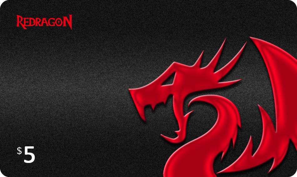 redragon $5 gift card