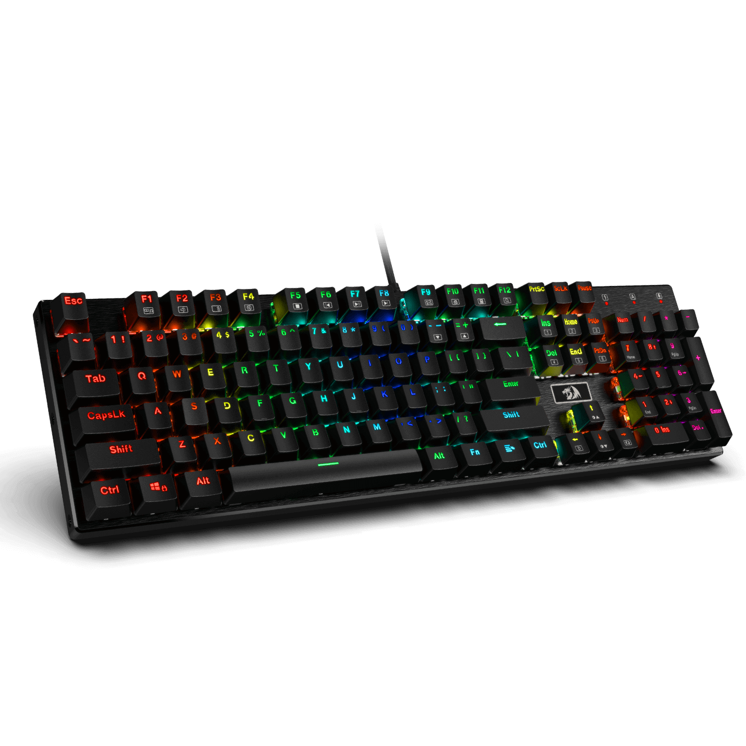 redragon k556 red switches gaming keybaord