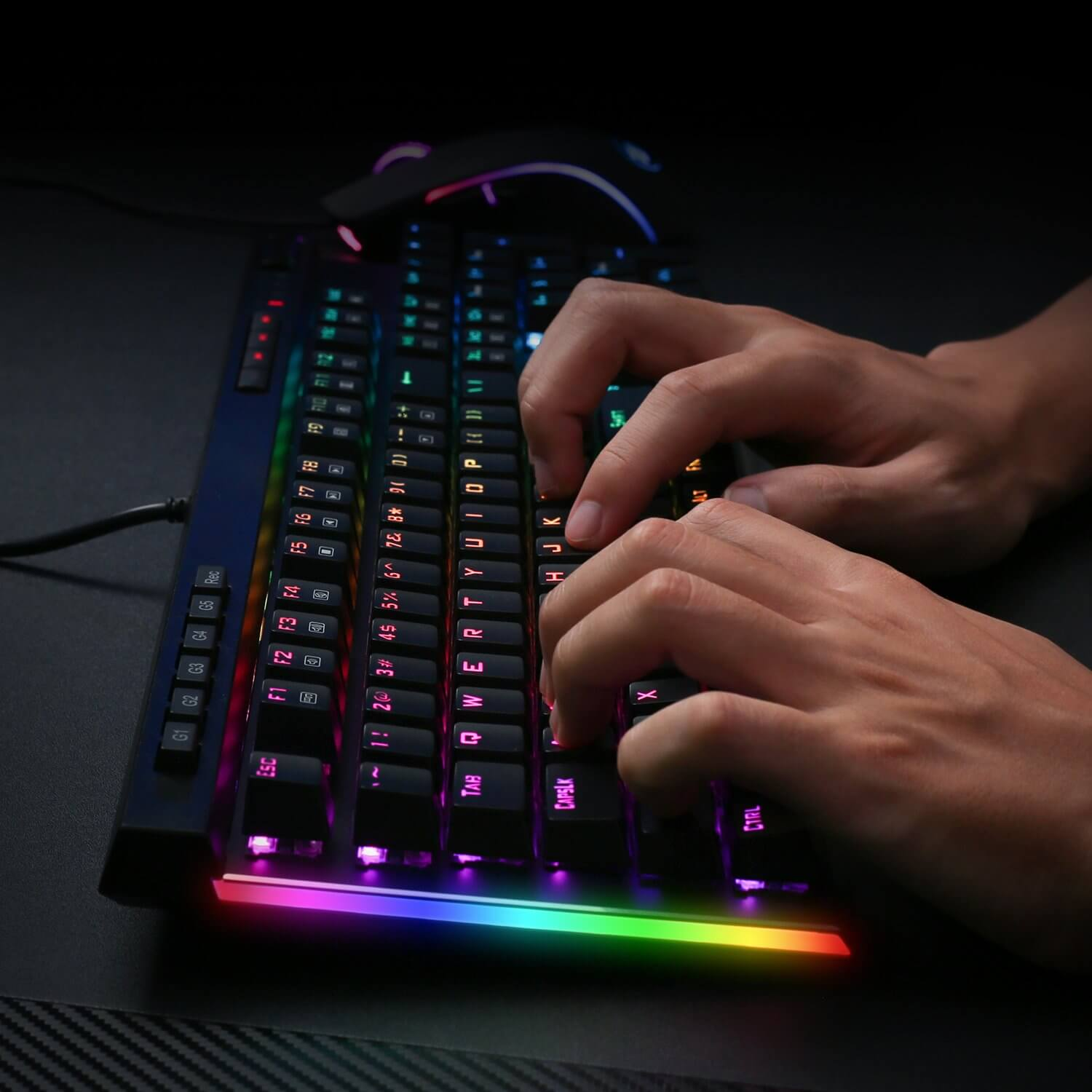 redragon vata k580 mechanical rgb keyboard