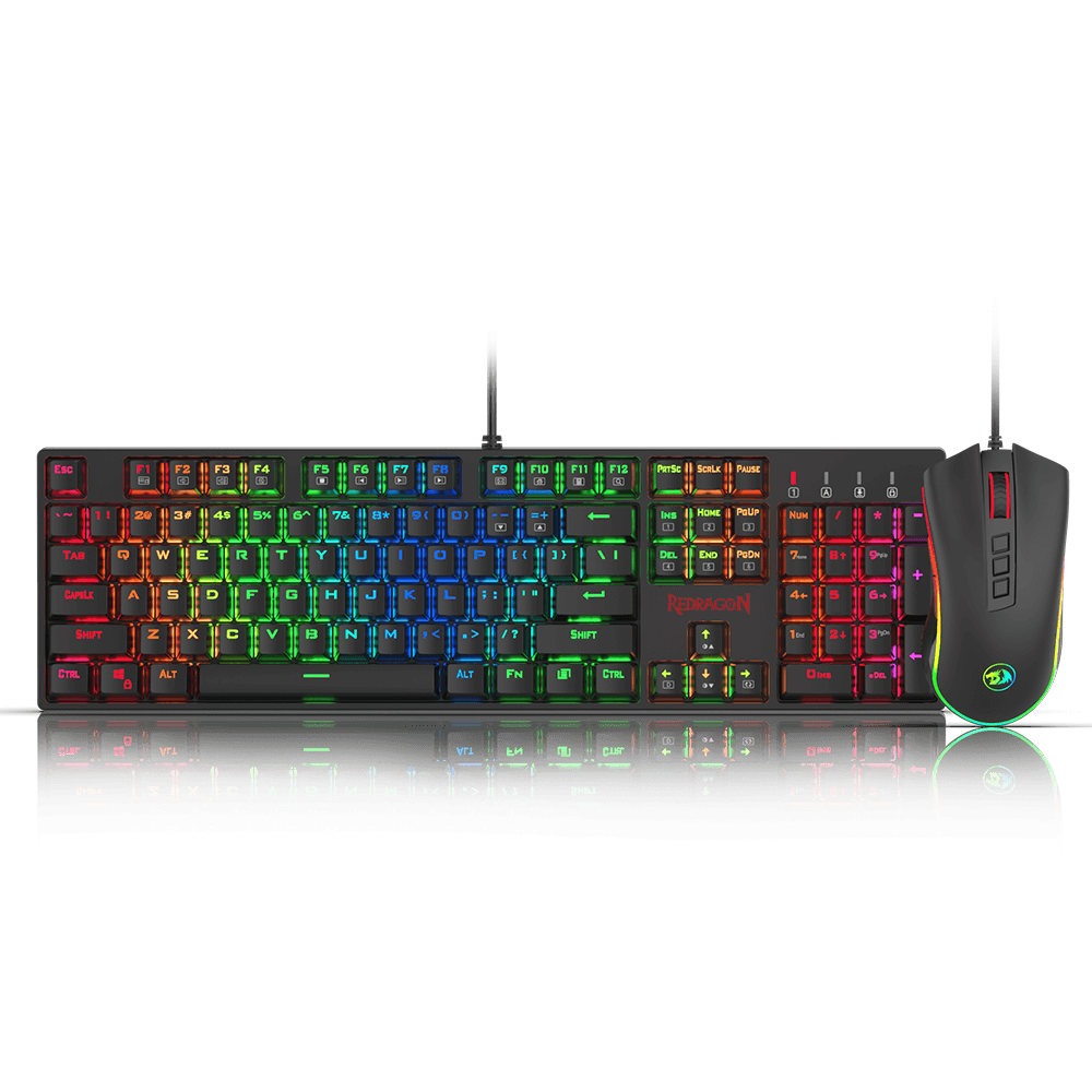 redragon k582-ba wired mechanical gaming keyboard