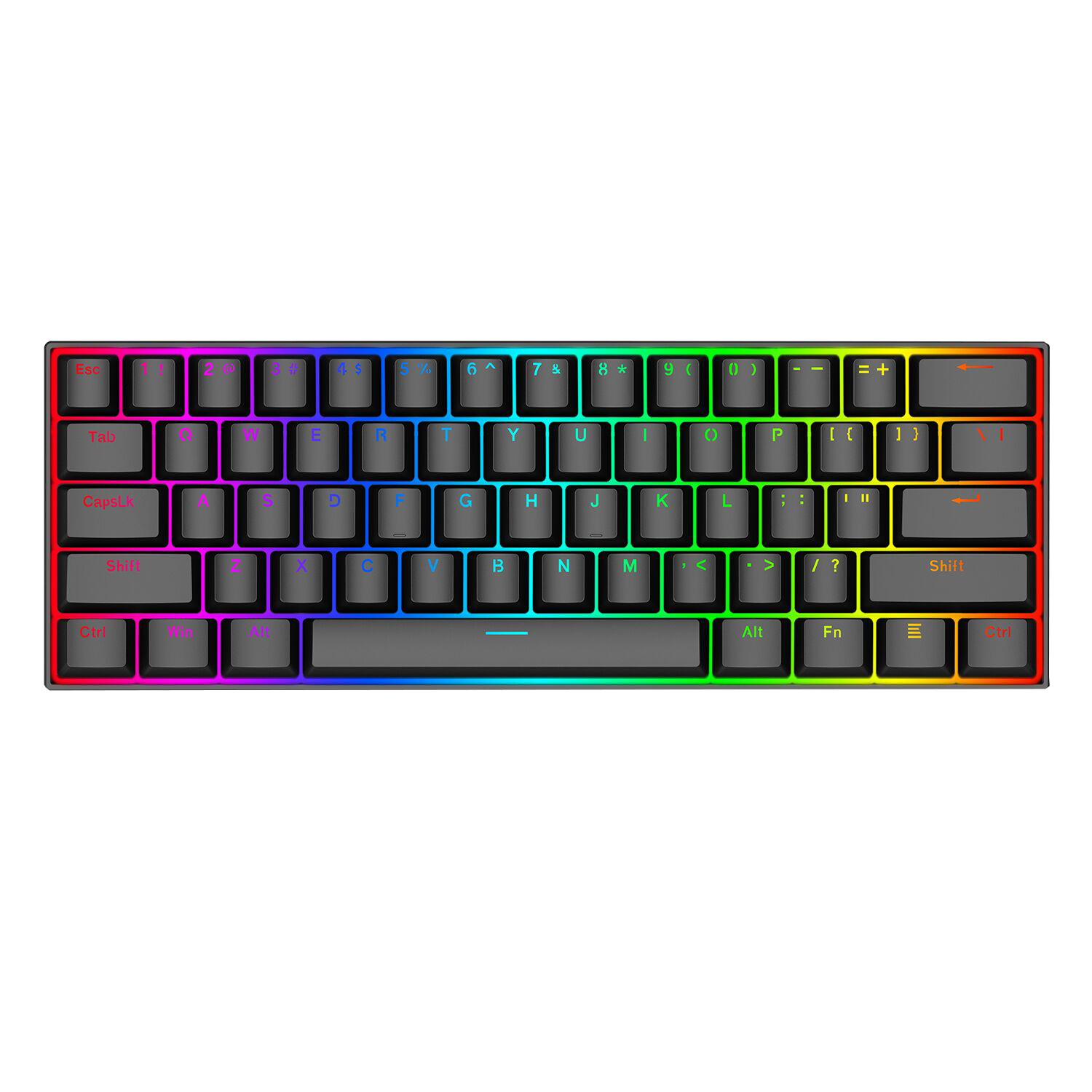 61 Keys Compact Mechanical Keyboard