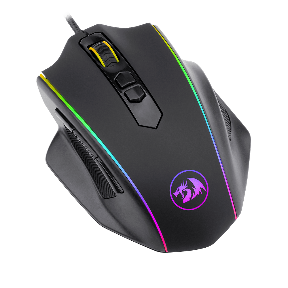 redragon m720 vampire rgb gaming mouse