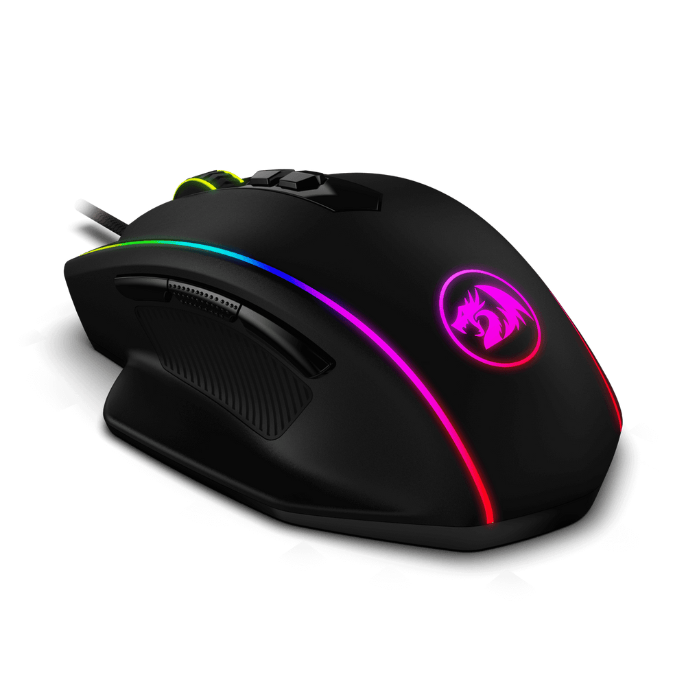 Redragon M720 VAMPIRE RGB Gaming Mouse with 5 DPI levels and 8 Macro Buttons
