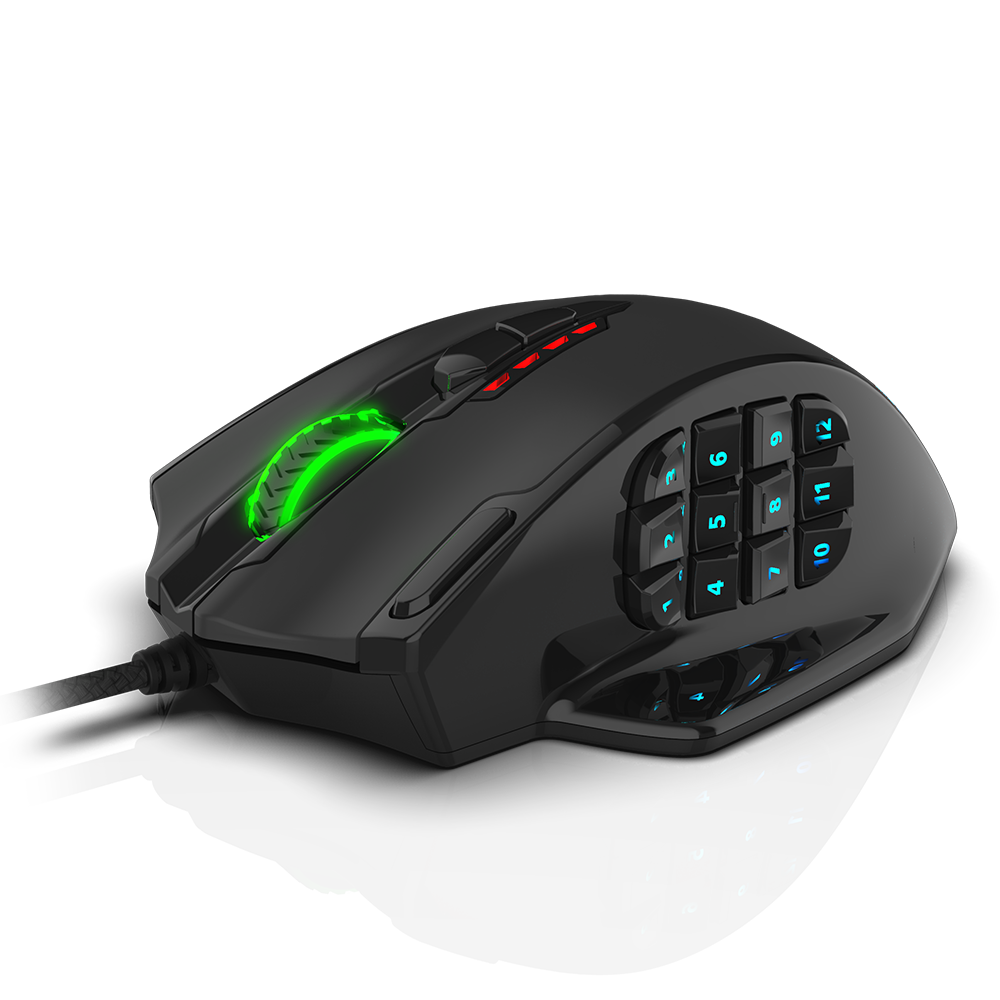 mmo mouse redragon