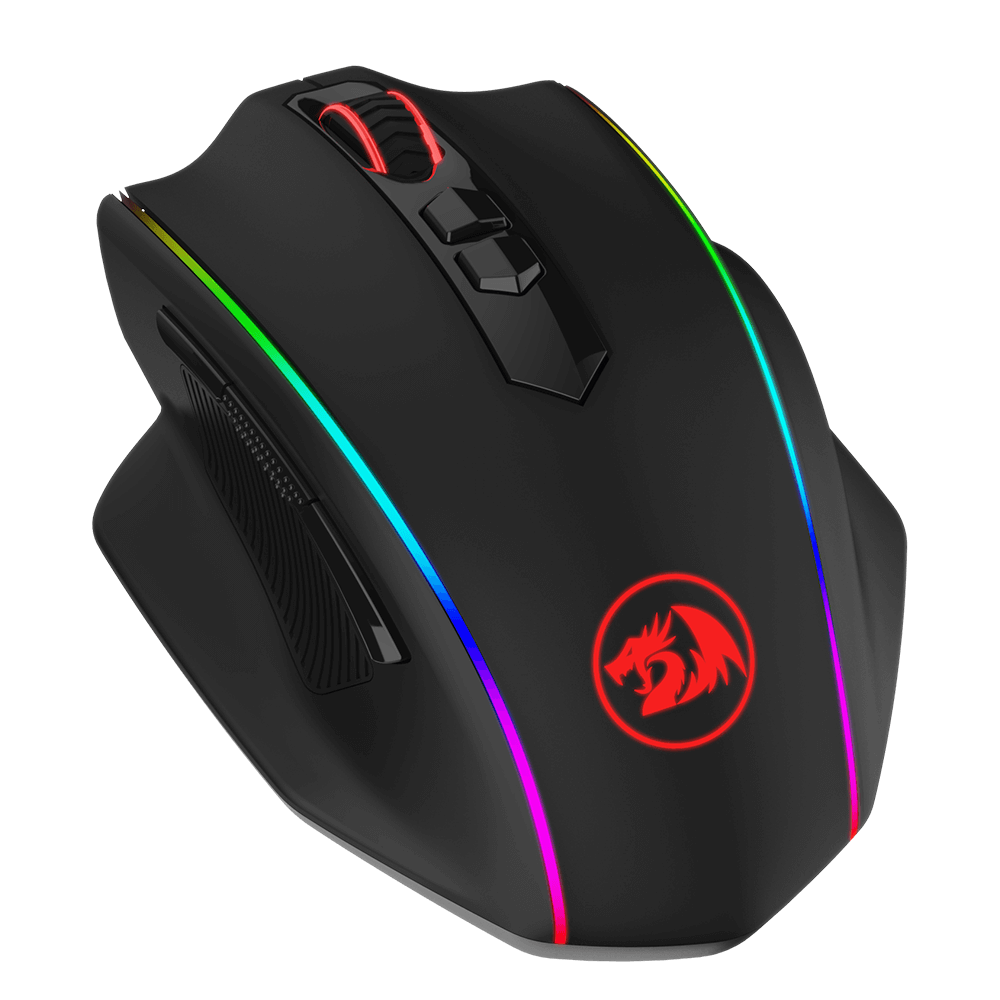 wireless gaming mouse with programmable buttons