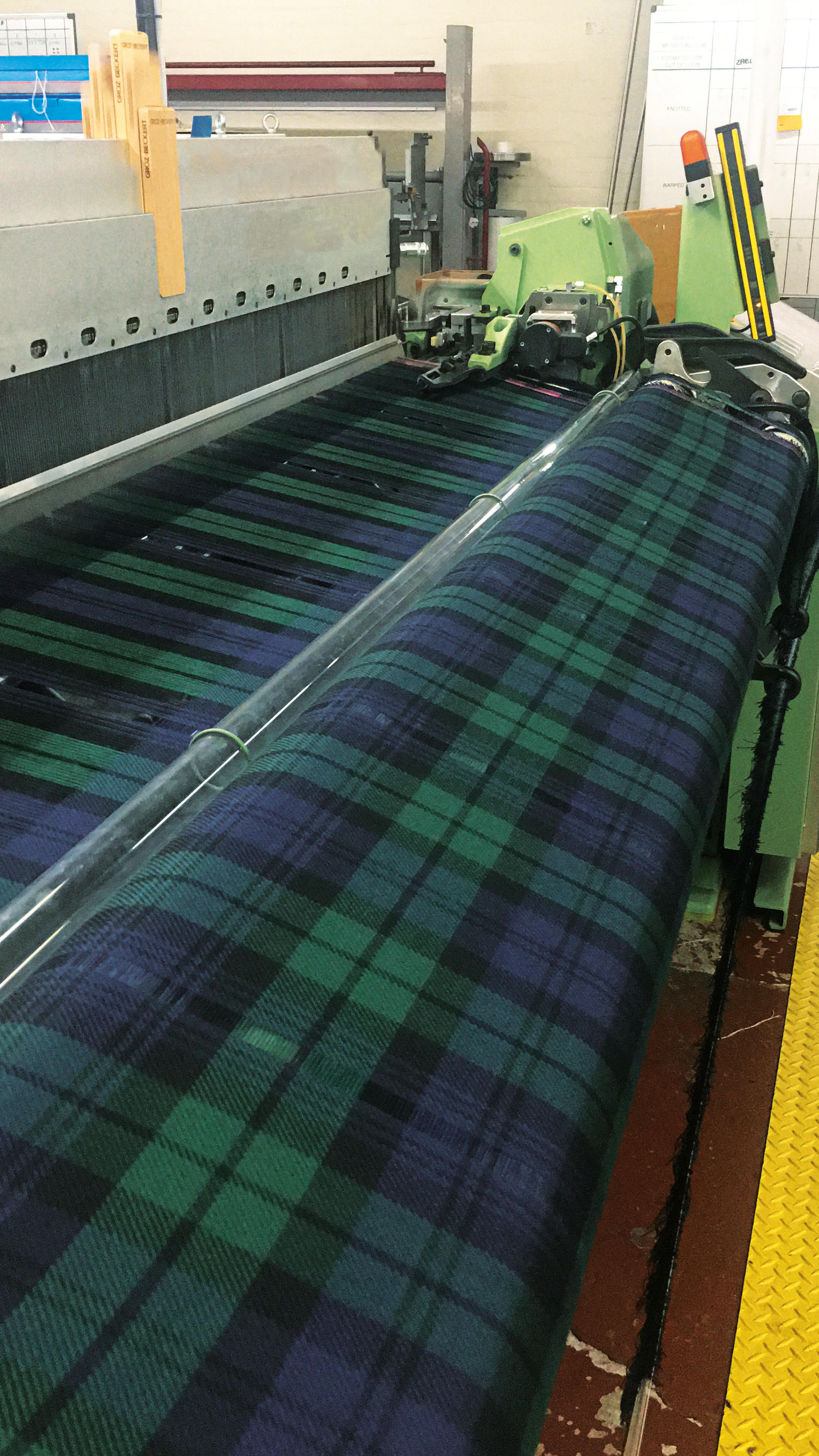 Getting busy in the workshop with the Black Watch Tartan.