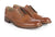Tan|Trafalgar Leather Brogue - Tan / 6 - Merc London