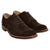 Dark Brown|Aldwych Suede Brogue - Merc London