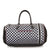 Black|Boysie Check Barrel Bag - Merc London