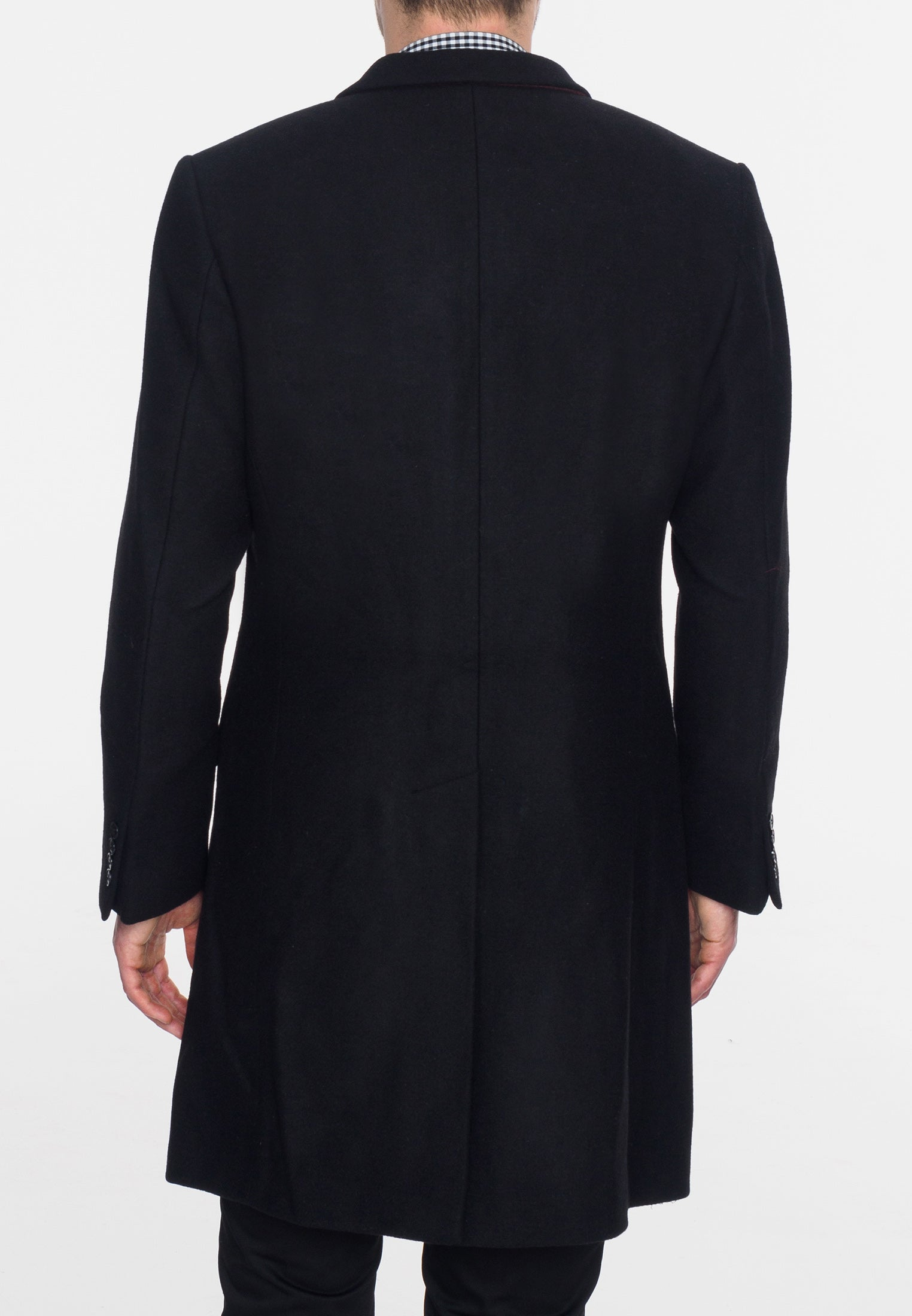 WALESBY Tailored wool overcoat - Merc London