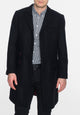 Walesby Tailored wool overcoat