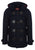 Dark Blue|Bonner Duffel Coat - Merc London
