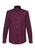 Wine|Siegel Polka Dot Shirt - Merc London