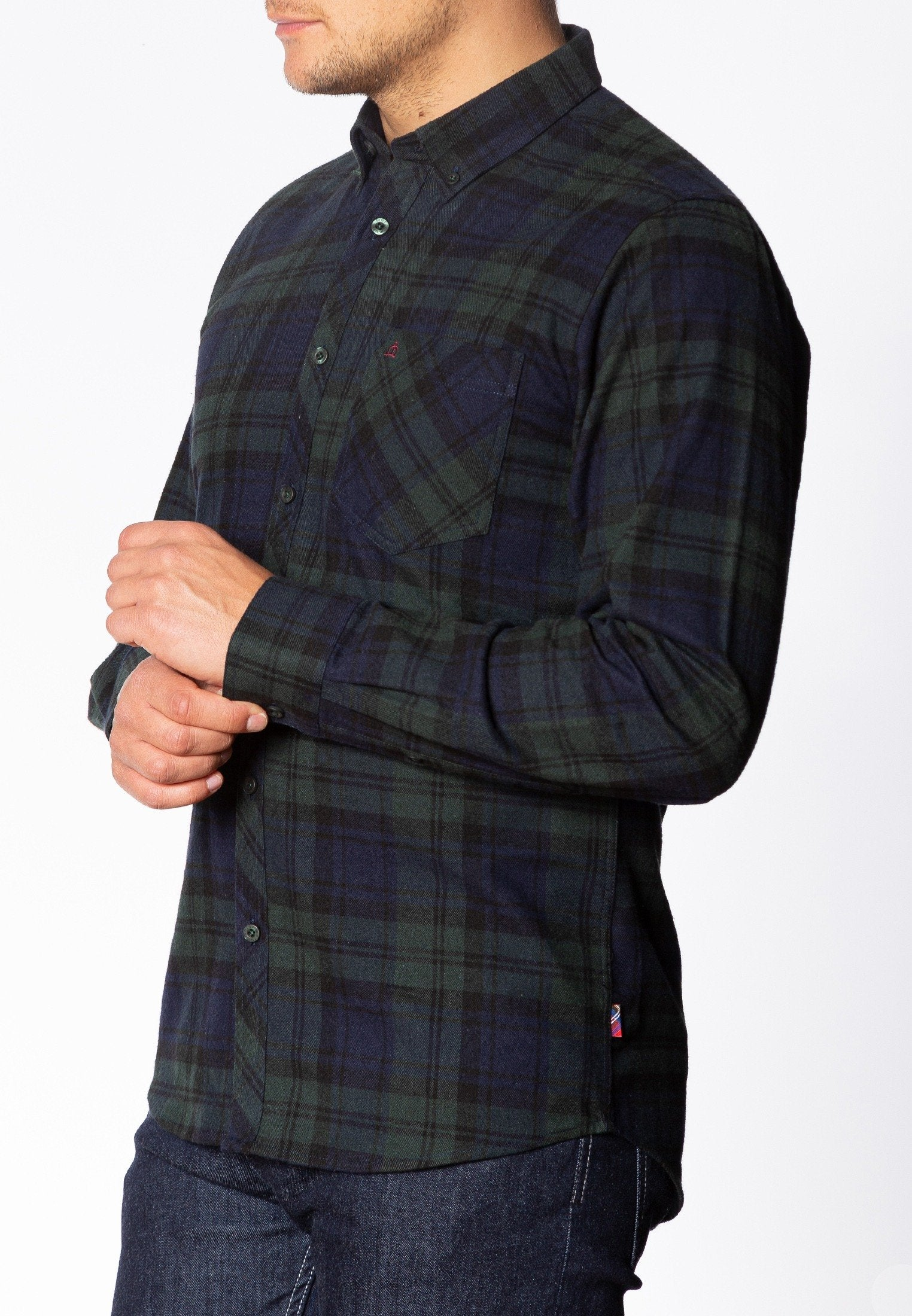 Cyprus Flannel Shirt - Merc London