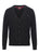 Black|Harris Pure Wool Cardigan - Merc London