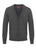 Marl Charcoal|Harris Pure Wool Cardigan - Merc London