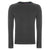 Marl Charcoal|Stanmore Jumper - Merc London
