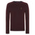 Wine Marl|Stanmore Jumper - Merc London