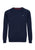 Navy Marl|Berty Cashmere Blend Jumper - Merc London