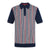 Navy|Picton Knit Polo - Merc London