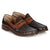 Dark Brown|Soho II Bi-Colour Penny Loafer - Dark Brown / 10 - Merc London
