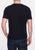 Black|Brighton T-shirt - Merc London