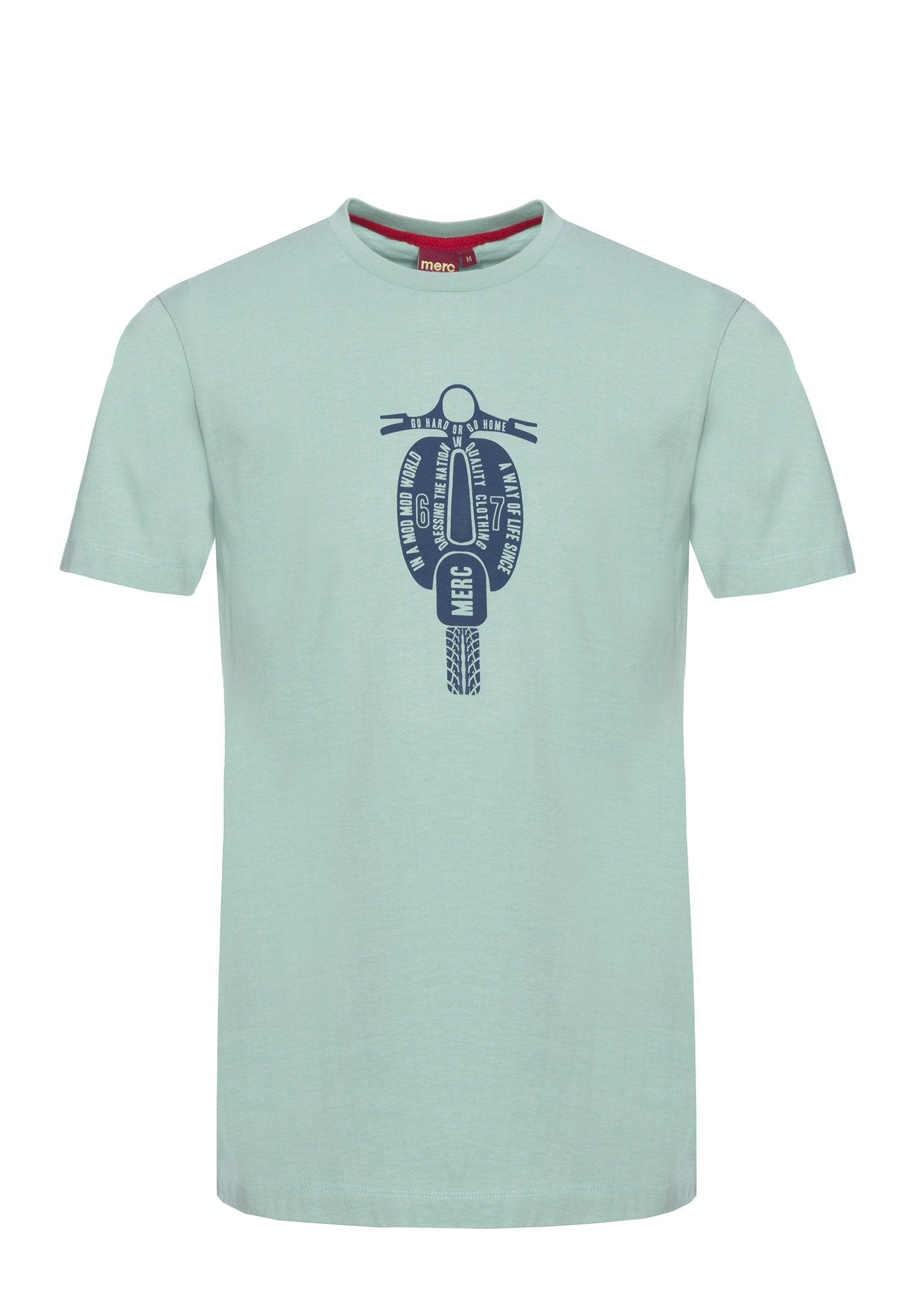 Cullum Scooter Print T-Shirt - Merc London