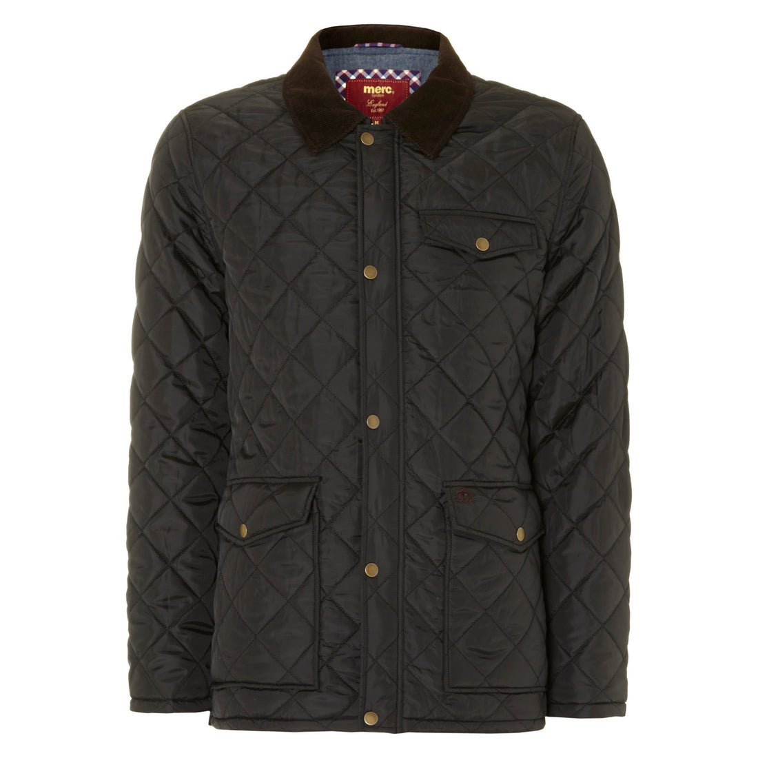 1c04aeb3b62 Alcester Quilted Jacket – Merc Clothing Ltd