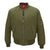 Combat Green|Lambeth Bomber Jacket - Merc London