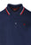 Navy & Blood Red|Card Polo Shirt - Merc London