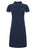 Navy|Kara Polo Dress - Merc London