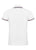 White|Rita Polo Shirt - Merc London
