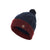 Red/Blue|Wayne Knit Beanie - Merc London