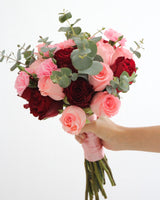 Bridal Bouquet - The Classic Pink and Red