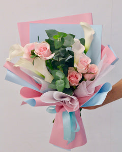 Flower bouquet - The Calla Lily | Free Flower Delivery | V Florist SG