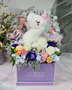 Gift Hamper - Floral Stuffed Toy Box