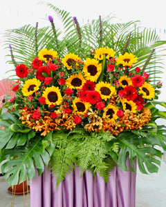 Opening Flower - Blooming Success | Free Flower Delivery | V Florist SG