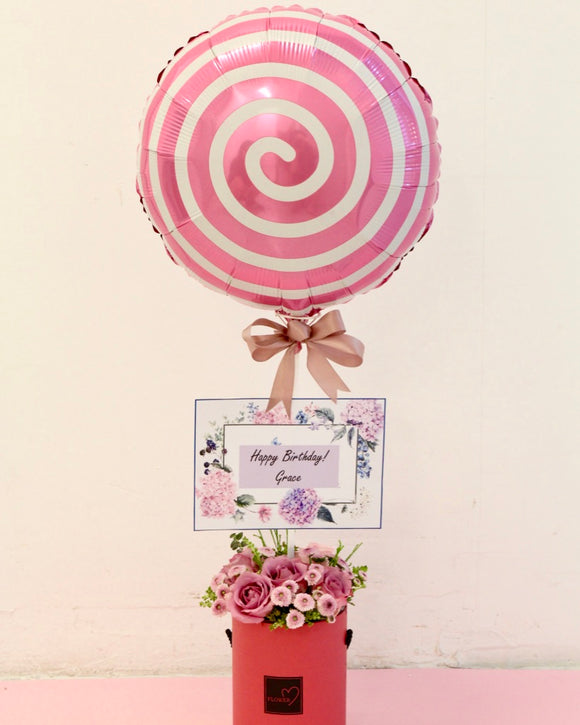 Hot Air Balloon Bouquet - My Sweet Heart