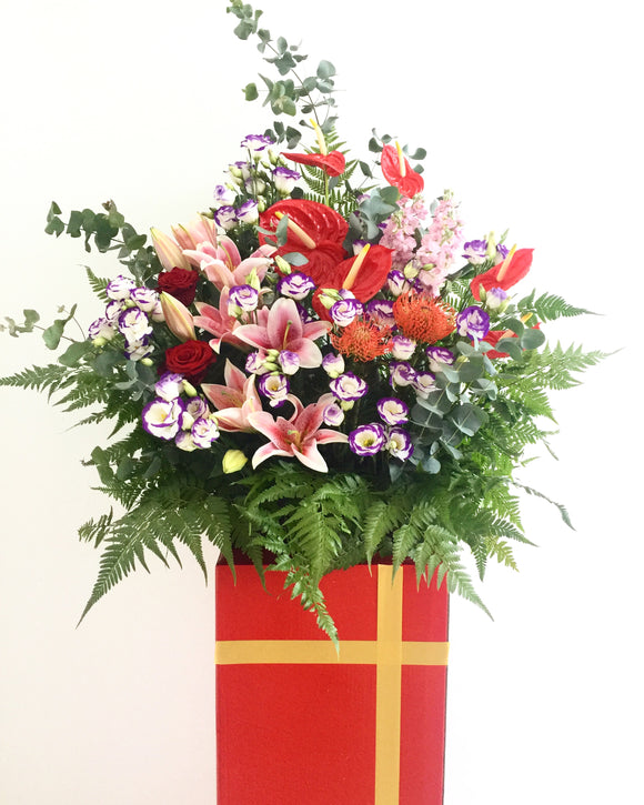 Grand opening flower stand | Free Flower Delivery | V Florist SG
