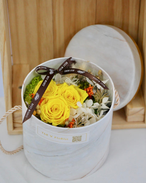 Preserved Rose Box | Same Day Delivery Available‎ | V Florist SG