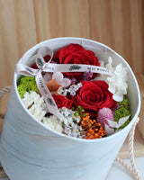 Preserved Rose Box - Red Roses